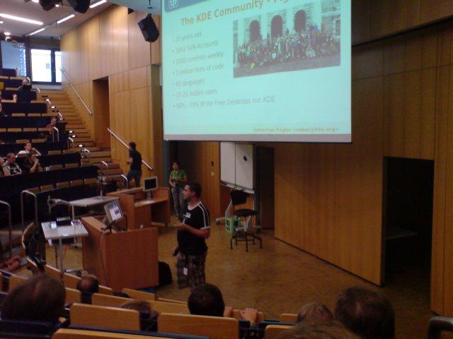 KDE4-Vortrag auf der FrOSCon